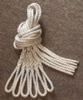 Six Synthetic Hemp Lanyards - Fender Ropes (8mm x 1 metre)